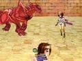 RPG「HENTAI QUEST~女勇者とロクデナシたち~」戦闘画面